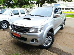 Toyota Hilux 3.0 SRV Limited Edition Turbo Prata 2015