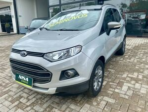 Ford Ecosport 1.6 Freestyle Prata 2013