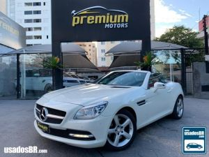 MERCEDES-BENZ SLK 250 1.8 CGI TURBO Branco 2013