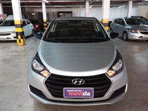Hyundai HB20 1.0 Comfort Plus Prata 2018
