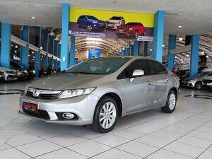Honda Civic 1.8 LXL Cinza 2013