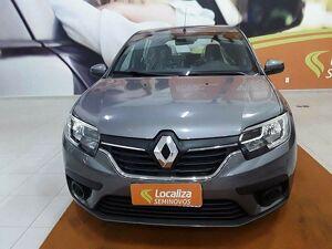 Renault Sandero 1.0 12V SCE ZEN Cinza 2021