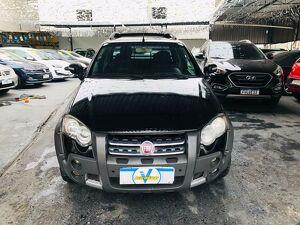 Fiat Strada CE 1.8 Adventure Preto 2012