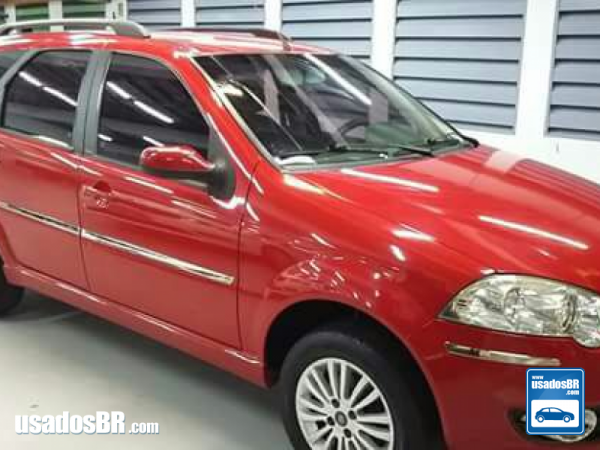 Foto do carro FIAT PALIO 1.6 MPI ELX WEEKEND 8V GASOLINA 4P MANUAL Vermelho 2010