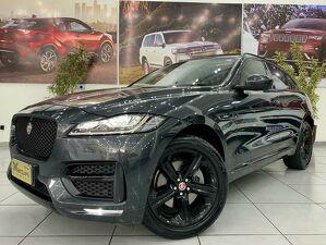 Jaguar F-pace 3.0 R-sport Supercharged V6 Cinza 2017