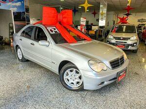 Mercedes-benz C 180 1.8 16V Prata 2004