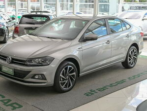 Volkswagen Virtus 1.0 200 TSI Highline Prata 2021