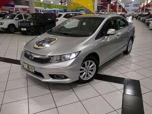 Honda Civic 1.8 LXS Cinza 2014