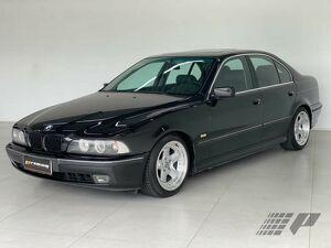 BMW 528i 2.8 24V Preto 1996