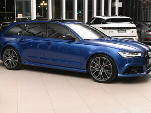 Audi RS6 4.0 Avant Bi-turbo V8 Azul 2018