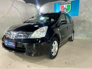 Nissan Grand Livina 1.8 16V Preto 2012