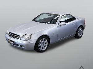MERCEDES-BENZ SLK 230 2.3 KOMPRESSOR ROADSTER Prata 1997