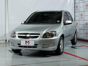 Chevrolet Celta 1.0 LT 8V Prata 2014