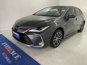 Toyota Corolla 1.8 Altis Premium Hybrid Cinza 2022