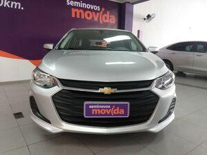 Chevrolet Onix 1.0 LT 12V Prata 2020