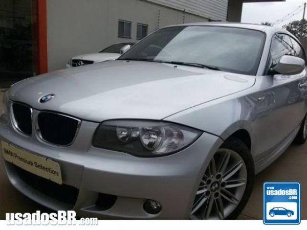 Foto do veiculo BMW 118i 2.0 SPORT EDITION Prata 2012