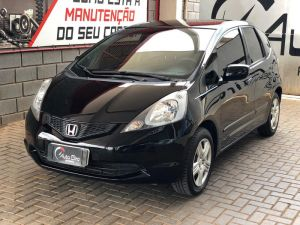 HONDA FIT 1.4 DX Preto 2011
