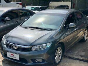 Honda Civic 2.0 LXR Cinza 2014