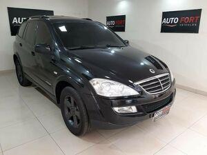 Ssangyong Kyron 2.0 4X4 16V Turbo Preto 2012
