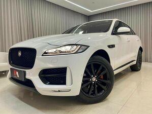 Jaguar F-pace 2.0 Ingenium R-sport AWD Branco 2018