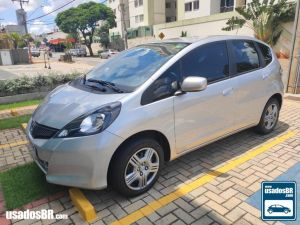 HONDA FIT 1.4 CX Prata 2014