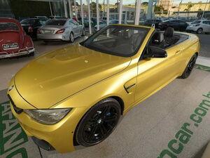 BMW M4 3.0 Cabrio I6 Amarelo 2016