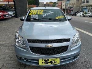 Chevrolet Agile 1.4 LTZ 8V Prata 2012