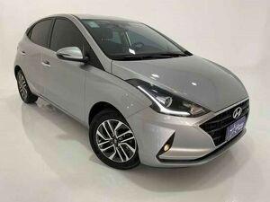 Hyundai HB20 1.0 TGDi Diamond Plus Prata 2020