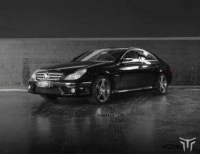 Mercedes-benz CLS 63 AMG 5.5 Turbo V8 Preto 2007