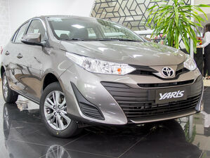 Toyota Yaris 1.5 XL 16V Cinza 2021