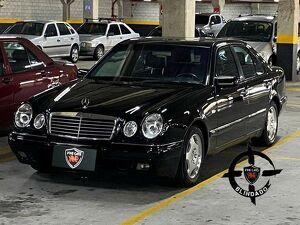 Mercedes-benz E 320 3.2 Avantgarde V6 Preto 1997