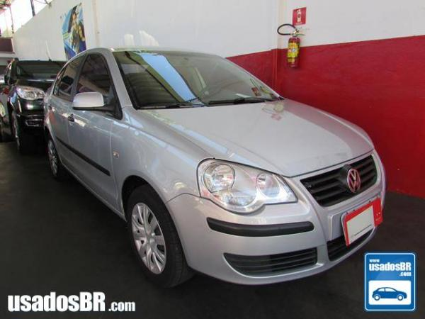 Foto do veiculo VOLKSWAGEN POLO SEDAN 1.6 8V Prata 2008