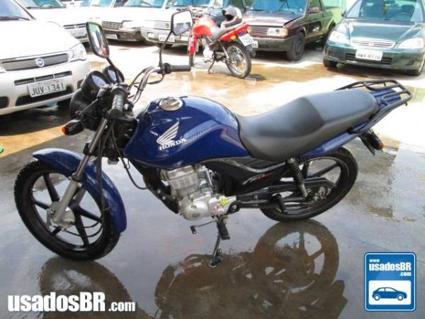 Foto do veiculo Honda CG 125 Fan 125cc KS Azul 2013