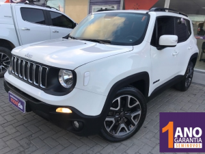 JEEP RENEGADE 1.8 LONGITUDE Branco 2019