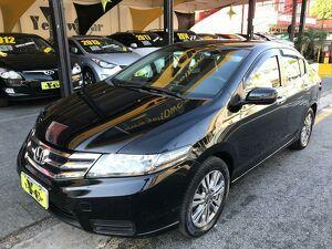 Honda City 1.5 EX Preto 2013