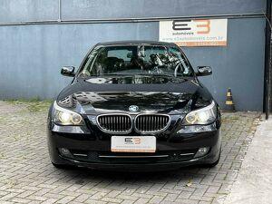 BMW 550i 4.8 Security V8 Preto 2008