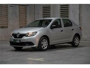 Renault Logan 1.0 Authentique Prata 2018