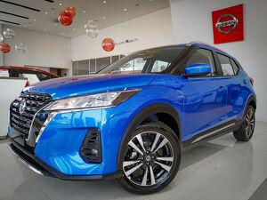 Nissan Kicks 1.6 Advance Azul 2021