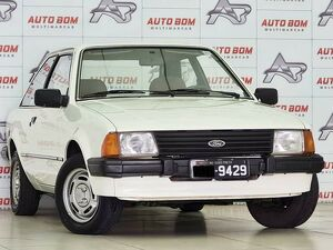 Ford Escort 1.6 GL Branco 1986