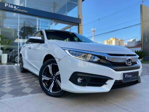 Honda Civic 1.5 Touring Turbo Branco 2019