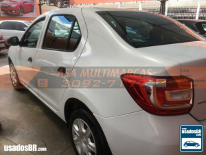 RENAULT LOGAN 1.0 AUTHENTIQUE PLUS Branco 2019