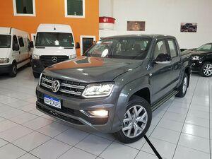 Volkswagen Amarok 3.0 V6 Highline Cinza 2021