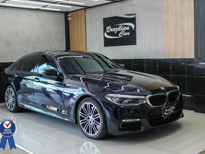 BMW 540i 3.0 M Sport Turbo Preto 2018