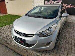 Hyundai Elantra 2.0 GLS Prata 2012