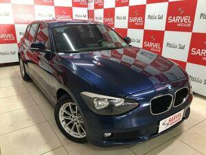 BMW 116i 1.6 TURBO Azul 2014