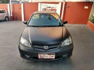 Honda Civic 1.7 LX Preto 2005