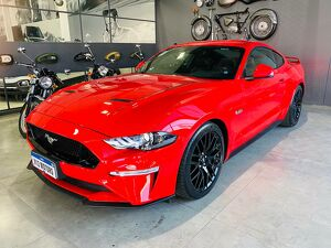 FORD MUSTANG 5.0 GT PREMIUM V8 Vermelho 2019