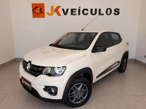 Renault Kwid 1.0 Intense Bege 2019