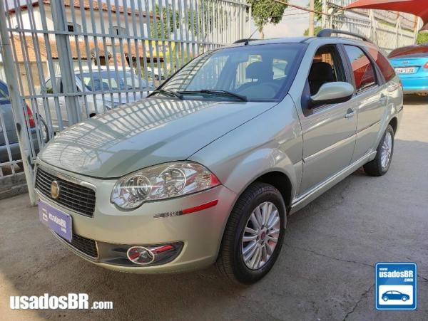 FIAT PALIO WEEKEND 1.4 ATTRACTIVE Verde 2011