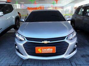 Chevrolet Onix 1.0 Turbo Plus LT Prata 2020